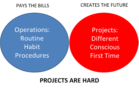 Operations vs Projects